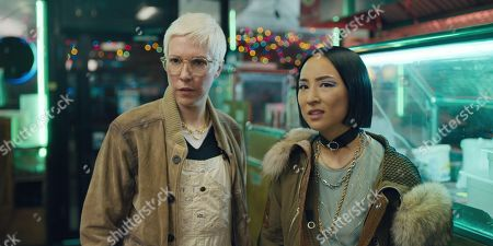 Rebecca Henderson as Lizzy and Greta Lee as Maxine