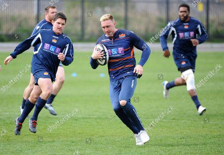 Editorial picture of Edinburgh Rugby training session, Murrayfield Stadium, Scotland, UK - 23 Apr 2019