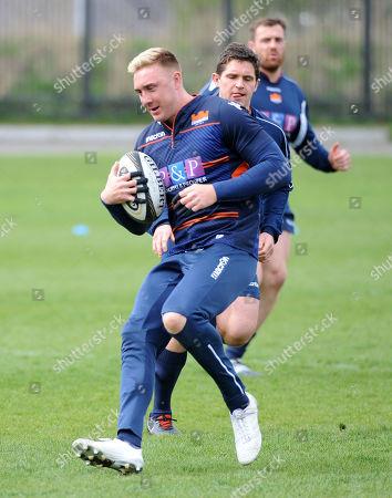 Editorial image of Edinburgh Rugby training session, Murrayfield Stadium, Scotland, UK - 23 Apr 2019