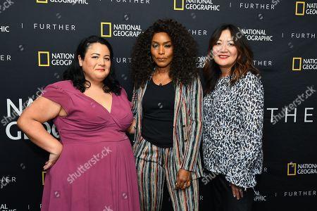 Jenelle Riley, Angela Bassett, Jenet Hon Vissering