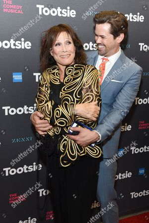 Michele Lee and Andrew Rannells