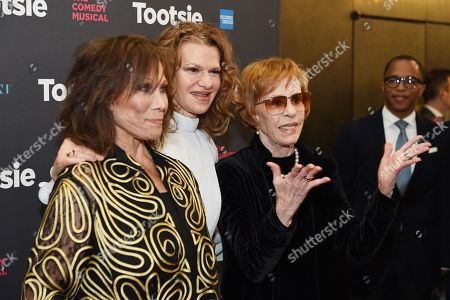 Michele Lee, Sandra Bernhard, and Carol Burnett