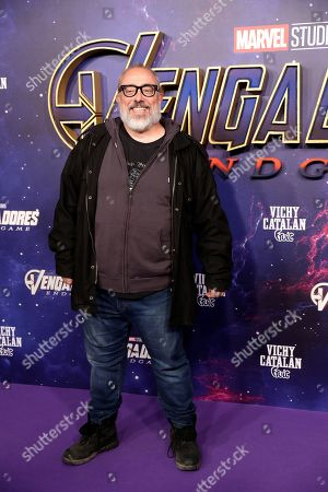 Alex de la Iglesia arrives for the premiere of 'Avengers: Endgame' at Teatro Capitol in Madrid, Spain, 23 April 2019. The movie will be released in Spanish theaters on 25 April.