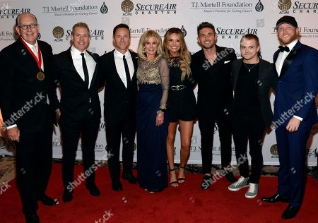 John Esposito Chairman/CEO Warner Music Nashville, Recording Artist Trevor Rosen of Old Dominion, Singer/Songwriter Bryan White, Laura Heatherly CEO T.J. Martell Foundation, Singers/Songwriters Carly Pearce, Michael Ray, Hunter Hayes and Cole Swindell.