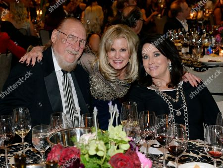 R&R HOF member Steve Cropper, Laura Heatherly CEO T.J. Martell Foundation and Angel Cropper