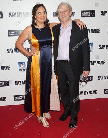 Stock Picture of Deborah Frances-White and Peter Davison