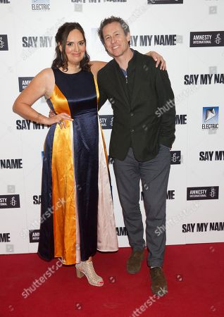 Deborah Frances-White and Tobias Menzies