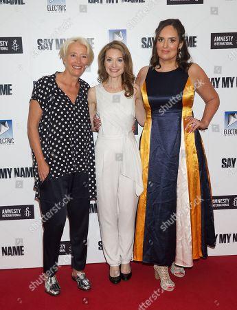 Emma Thompson, Lisa Brenner and Deborah Frances-White