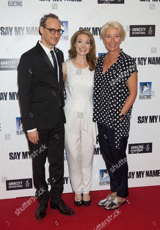Jay Stern, Lisa Brenner and Emma Thompson