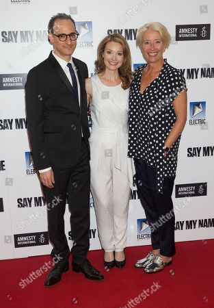 Editorial image of 'Say My Name' gala screening in association with Amnesty International, London, UK - 23 Apr 2019
