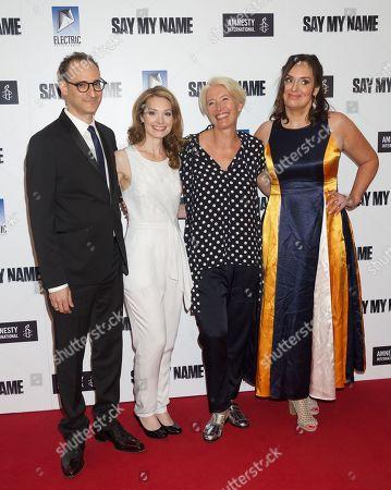 Jay Stern, Lisa Brenner, Emma Thompson and Deborah Frances-White