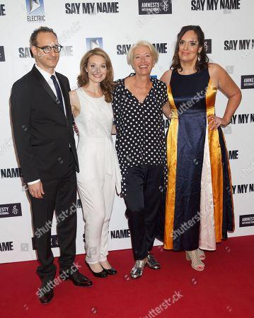 Stock Picture of Jay Stern, Lisa Brenner, Emma Thompson and Deborah Frances-White