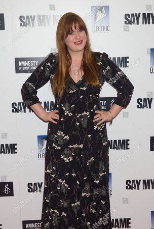 Editorial photo of 'Say My Name' gala screening in association with Amnesty International, London, UK - 23 Apr 2019