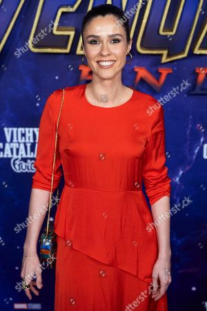 Editorial image of 'Avengers: Endgame' film premiere, Arrivals, Capitol Cinema, Madrid, Spain - 23 Apr 2019