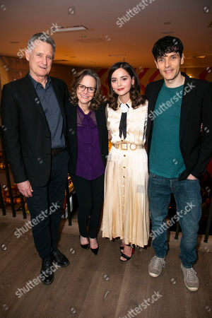 Stock Image of Bill Pullman (Joe Keller), Sally Field (Kate Keller), Jenna Coleman (Ann Deever) and Colin Morgan (Chris Keller)