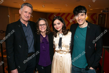 Bill Pullman (Joe Keller), Sally Field (Kate Keller), Jenna Coleman (Ann Deever) and Colin Morgan (Chris Keller)