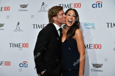 Stock Image of Chip Gaines and Joanna Gaines