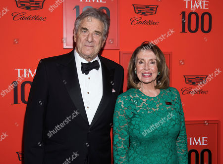 Paul Pelosi, Nancy Pelosi. Paul Pelosi, and Nancy Pelosi attend the 2019 Time 100 Gala, celebrating the 100 most influential people in the world, at Frederick P. Rose Hall, Jazz at Lincoln Center, in New York