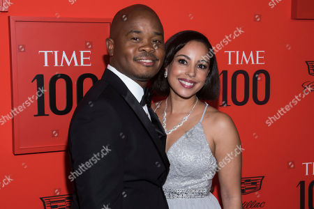 Fred Swaniker, Amanda Johnson. Fred Swaniker and Amanda Johnson attend the 2019 Time 100 Gala, celebrating the 100 most influential people in the world, at Frederick P. Rose Hall, Jazz at Lincoln Center, in New York