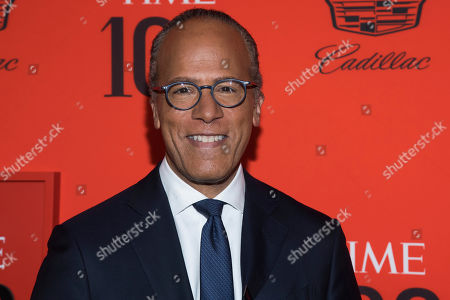 Lester Holt attends the 2019 Time 100 Gala, celebrating the 100 most influential people in the world, at Frederick P. Rose Hall, Jazz at Lincoln Center, in New York