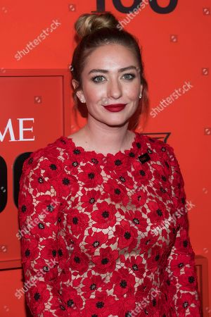 Whitney Wolfe attends the 2019 Time 100 Gala, celebrating the 100 most influential people in the world, at Frederick P. Rose Hall, Jazz at Lincoln Center, in New York