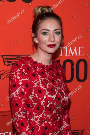 Stock Image of Whitney Wolfe attends the 2019 Time 100 Gala, celebrating the 100 most influential people in the world, at Frederick P. Rose Hall, Jazz at Lincoln Center, in New York