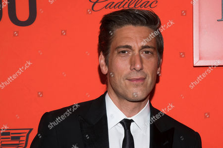 David Muir attends the 2019 Time 100 Gala, celebrating the 100 most influential people in the world, at Frederick P. Rose Hall, Jazz at Lincoln Center, in New York