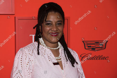 Lynn Nottage attends the 2019 Time 100 Gala, celebrating the 100 most influential people in the world, at Frederick P. Rose Hall, Jazz at Lincoln Center, in New York