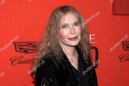 Mia Farrow attends the 2019 Time 100 Gala, celebrating the 100 most influential people in the world, at Frederick P. Rose Hall, Jazz at Lincoln Center, in New York