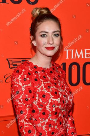 Stock Photo of Whitney Wolfe attends the 2019 Time 100 Gala, celebrating the 100 most influential people in the world, at Frederick P. Rose Hall, Jazz at Lincoln Center, in New York