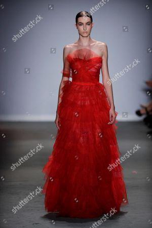 Editorial image of Fabiana Milazzo - Runway - Sao Paulo Fashion Week, Brazil - 23 Apr 2019