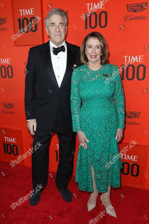 Stock Photo of Nancy Pelosi and Paul Pelosi