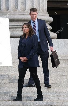 Philip Winchester and Mariska Hargitay