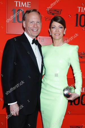 Stock Image of John Dickerson, Norah O'Donnell