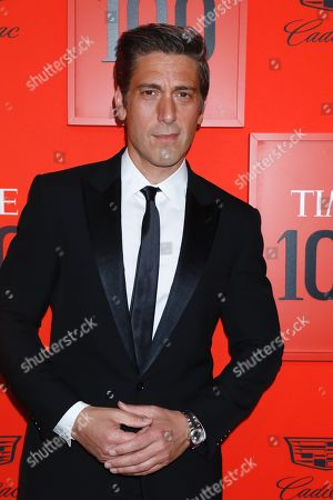 Stock Picture of David Muir