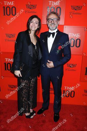 Lara Gilmore and Massimo Bottura