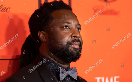 Jamaican author Marlon James arrives for the annual Time 100 Gala at the Frederick P. Rose Hall at the Lincoln Center in New York, New York, USA, 23 April 2019. The annual event coincides with Time Magazine's annual list of the 100 most influential people in the world.