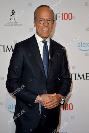 Stock Photo of Lester Holt