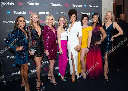 Shina Ann Morris, Leslie Donna Flesner, Jenifer Foote, Sissy Bell, Diana Vaden, Katerina Papacostas, Britney Coleman and Paula Leggett Chase