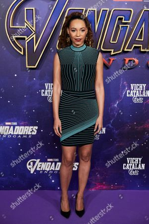 Editorial image of 'Avengers: Endgame' film premiere, Madrid, USA - 23 Apr 2019