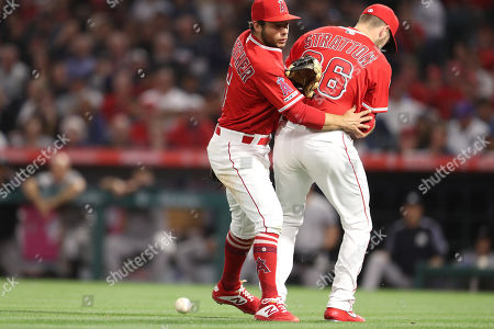 Editorial picture of MLB Yankees vs Angels, Anaheim, USA - 23 Apr 2019