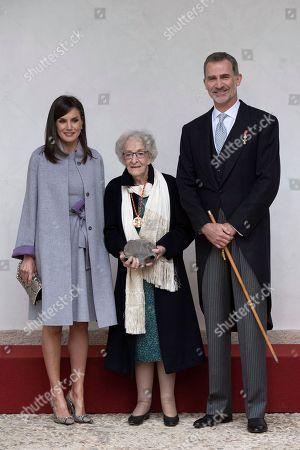 Cervantes Award presented to Ida Vitale, Alcala de Henares