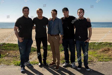 Jon Hurwitz Writer/Creator, William Zabka as Johnny Lawrence, Ralph Macchio as Daniel LaRusso, Josh Heald Writer and Hayden Schlossberg Writer/Creator