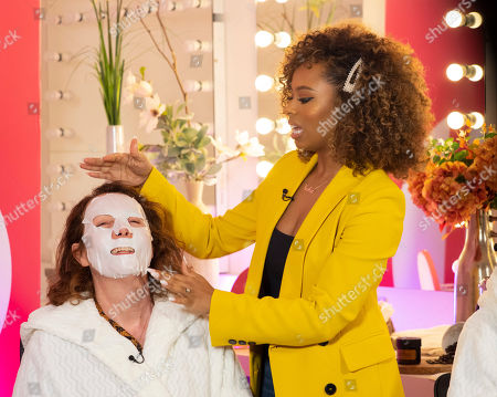 Keshia East - Beauty Demo 'Egg Facial'