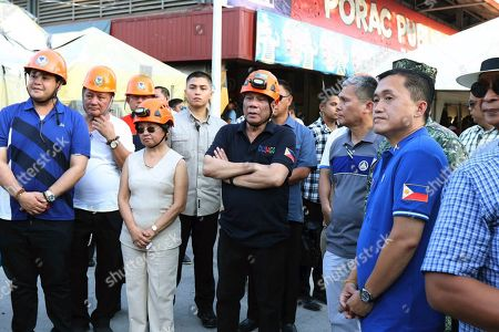 Editorial picture of Earthquakes, Porac, Philippines - 24 Apr 2019