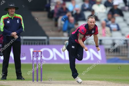 Northants Steelbacks  Luke Procter during the Royal London 1 Day Cup match between Lancashire County Cricket Club and Northamptonshire County Cricket Club at the Emirates, Old Trafford, Manchester