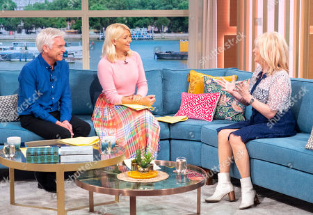 Phillip Schofield, Holly Willoughby, Carol Harrison