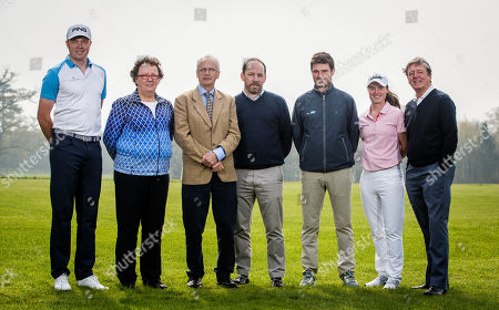 Pictured (L-R) are Robin Dawson, Golfer, Sinead Heraty, Irish Ladies Golf Union Chief Executive, John Treacy, Sport Ireland CEO, Pat Finn, Golf Ireland CEO, Cormac Sharvin, Golfer, Leona Maguire, Golfer and Des Smyth, Golfer at the announcement of the 2019 Team Ireland Golf Grants at the Sport Ireland Campus. Player funding from Team Ireland Golf has increased by Ä46,000 on the back of additional support from Sport Ireland. Player grants totalling Ä176,000 have been awarded to 12 aspiring professionals in 2019. Five players have received the maximum grant of Ä20,000. Three new players ñ Leona Maguire, Robin Dawson and Paul McBride ñ have qualified for support in 2019. Additionally, 28 starts on the European Challenge Tour have been secured.