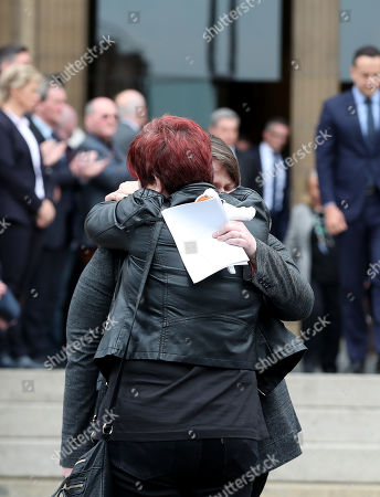 Editorial picture of The Funeral of Lyra Mckee, St Anne's Cathedral, Donegall Street, Belfast, Northern Ireland, UK - 24 Apr 2019