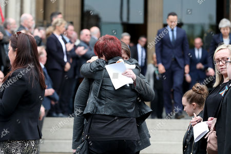 Editorial photo of The Funeral of Lyra Mckee, St Anne's Cathedral, Donegall Street, Belfast, Northern Ireland, UK - 24 Apr 2019